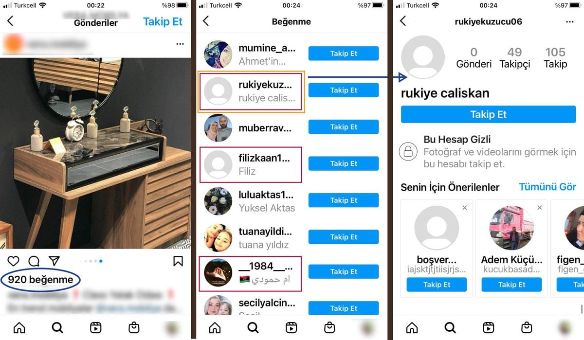 Instagram'da bot takipçi nasıl belli olur?