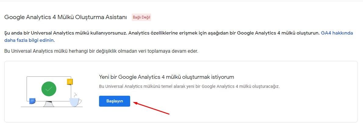 Google Analytics 4 Mülk Oluşturma Asistanı