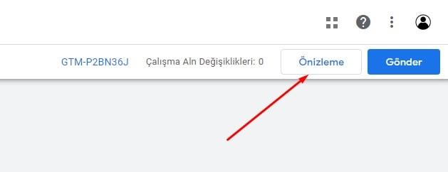 Google Tag Manager: Önizleme